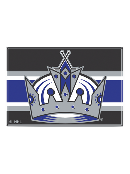 Los Angeles Kings 50th Anniversary Purple Crown Logo Fridge Magnet