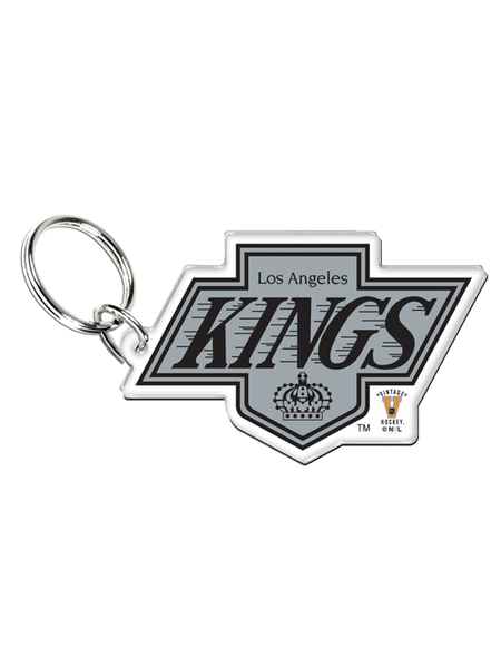 Los Angeles Kings 50th Anniversary Chevron Logo HD Key Ring