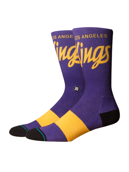 Los Angeles Kings 50th Vintage Script Sock