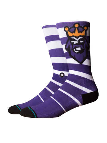 Los Angeles Kings 50th Vintage Alternate Logo Sock