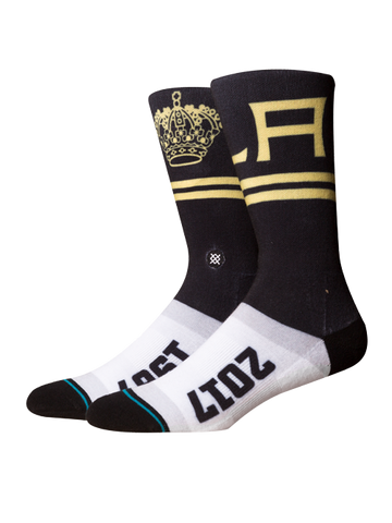 Los Angeles Kings 50th 1967 Crown Sock
