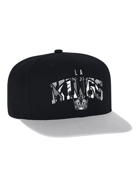 LA Kings Embroidered Crown Snapback
