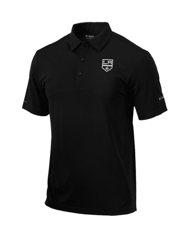 LA Kings Black Drive Polo