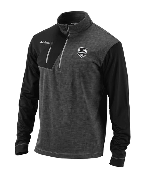 LA Kings Regulation Quarter Zip Fleece - Black
