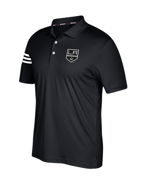 LA Kings 3 Stripe Golf Polo