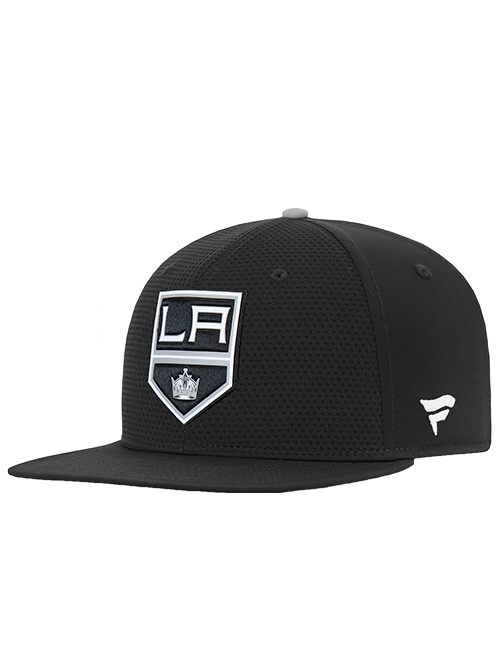 LA Kings Authentic Pro Rinkside Snapback - Black/Grey