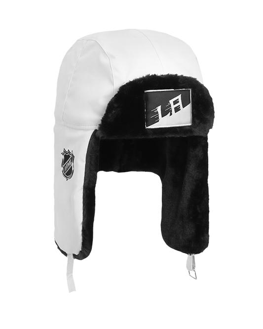 LA Kings Stadium Series Team Trapper Hat - White