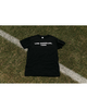 LA GALAXY ORIGINAL RETRO BASIC 96 RETRO BLACK TEE SHIRT