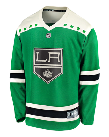 LA Kings St Patrick's Day Replica Jersey