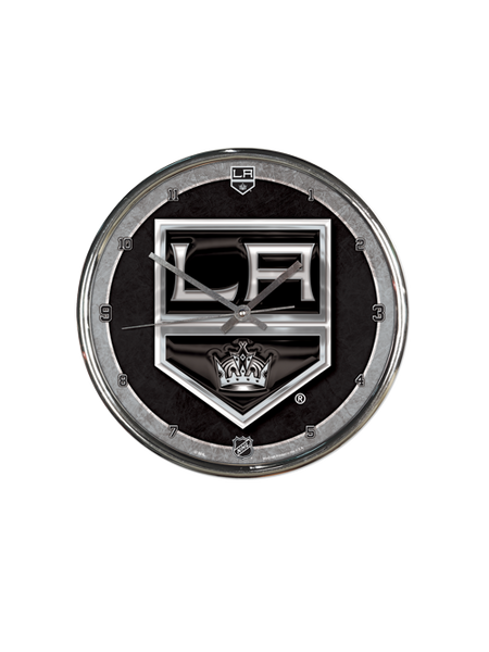 LA Kings Chrome Wall Clock