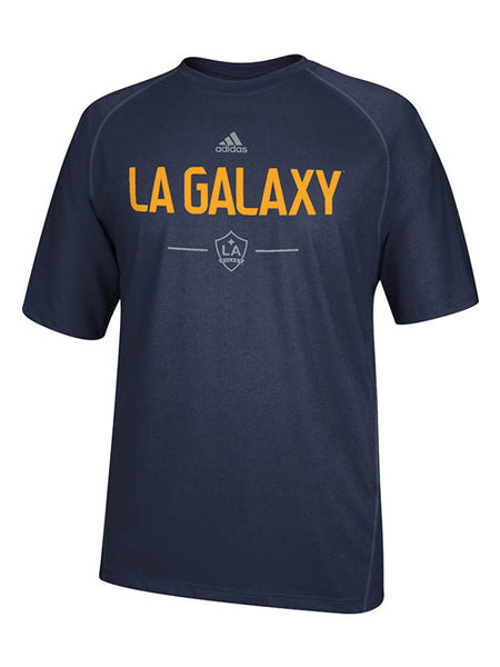 LA Galaxy Authentic Wordmark Climalite T-Shirt