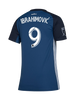 LA Galaxy Women's Navy Night Zlatan Ibrahimović Replica Secondary Jersey