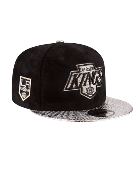 Los Angeles Kings 50th Anniversary Chevron Suede Snake Cap