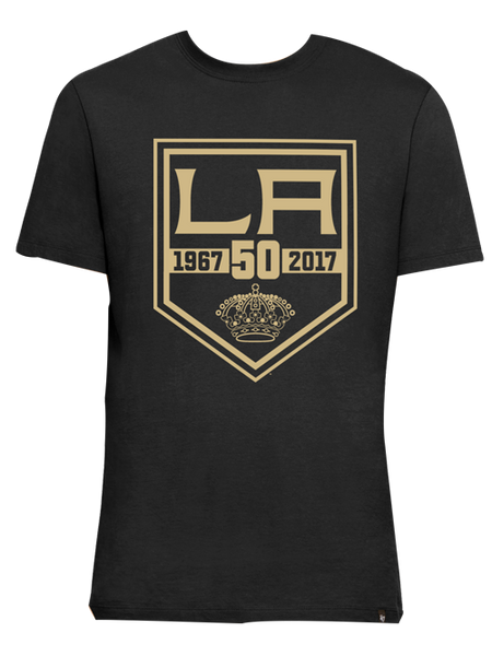 Los Angeles Kings 50th Anniversary Flanker Backer T-Shirt