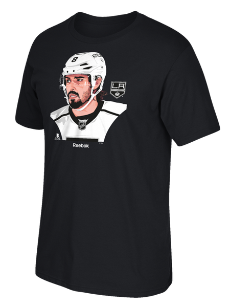 Los Angeles Kings Drew Doughty Portrait Short Sleeve T-Shirt