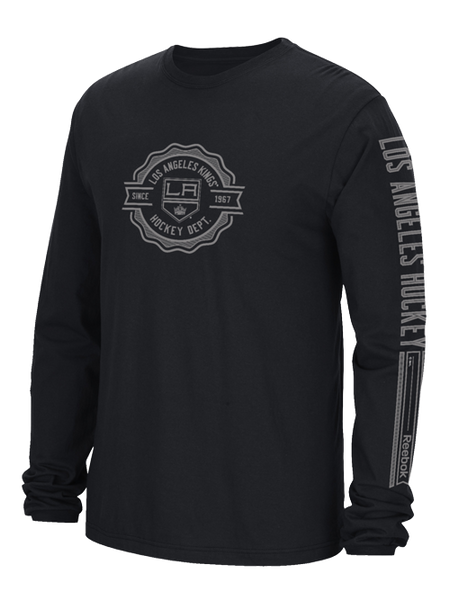 Los Angeles Kings Face Off Icon Long Sleeve T-Shirt