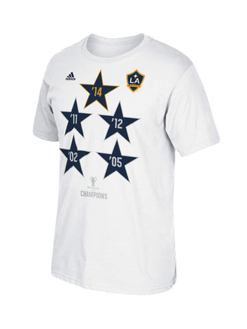 LA Galaxy MLS Cup Star Champions Locker Room T-Shirt