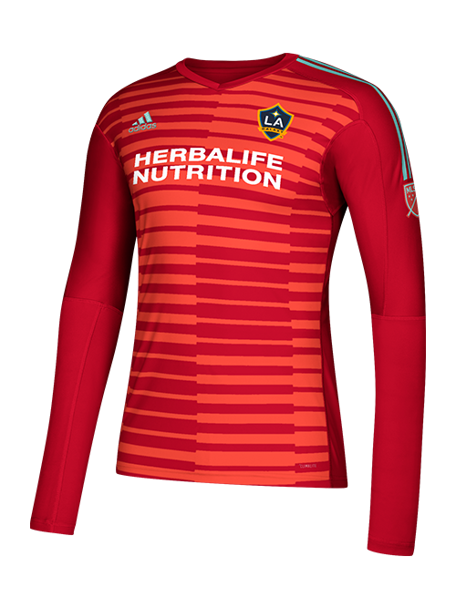 huge selection of 79ee3 b445f LA Galaxy Goalkeeper Long Sleeve Jersey - Red