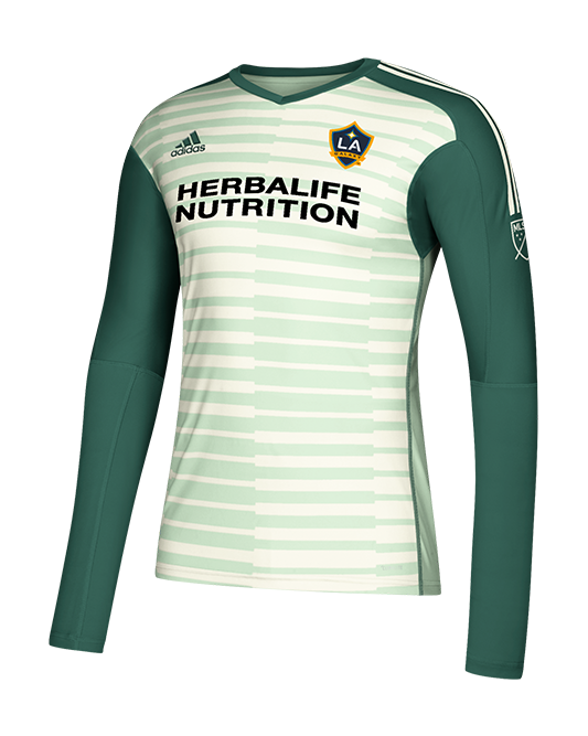 new style fcdad 2e302 LA Galaxy Goalkeeper Long Sleeve Jersey - Green