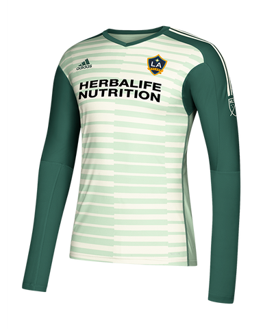 LA Galaxy Goalkeeper Long Sleeve Jersey - Green