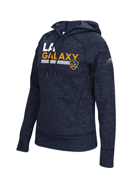 LA Galaxy Women's Team Pattern Bar Hoodie