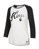LA Kings Gradient Script Splitter Raglan T-Shirt