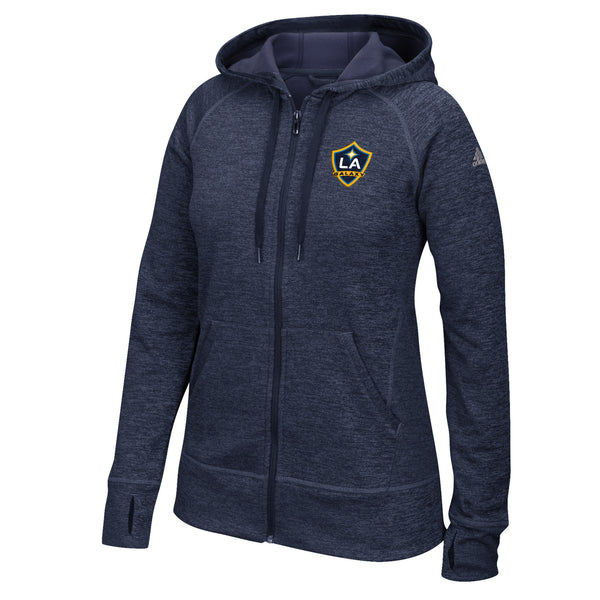 LA Galaxy Women's Full Zip Hood Jacket