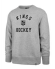 LA Kings Varsity Arch Headline Crew Pullover - Grey