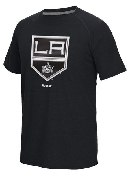Los Angeles Kings Face Off Sweater Emblem Short Sleeve T-Shirt