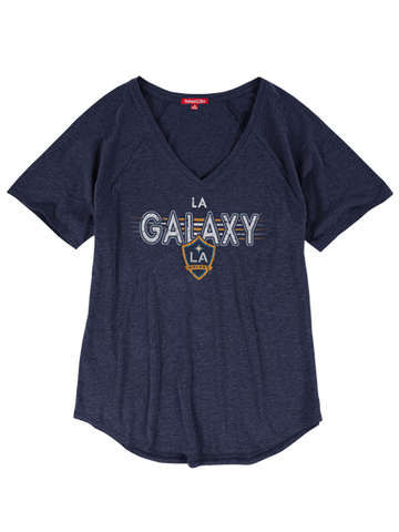 LA Galaxy Women's Visiting Team V-Neck T-Shirt