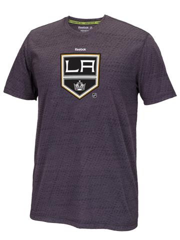 Los Angeles Kings 50th Anniversary Shield TNT Performance T-Shirt