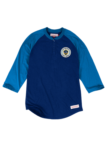 LA Galaxy Unbeaten Long Sleeve Henley