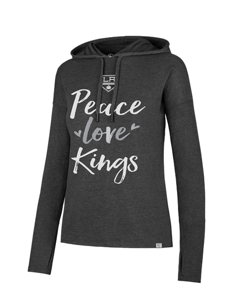 LA Kings Womens Peace Love Hoodie