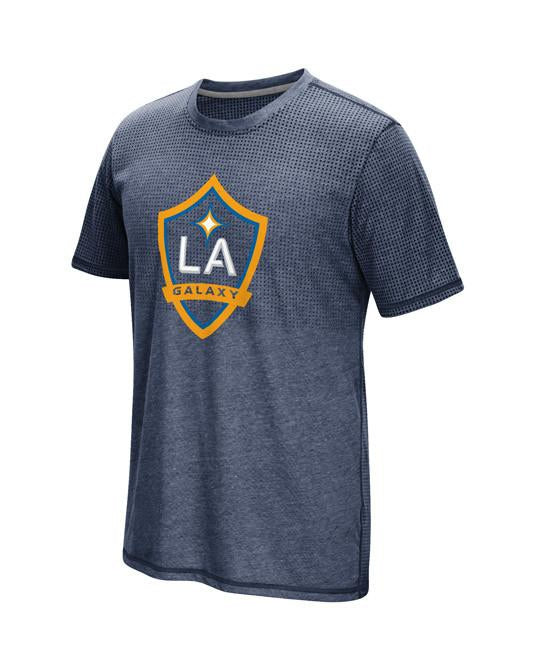 LA Galaxy Crest Authentic Short Sleeve T-Shirt