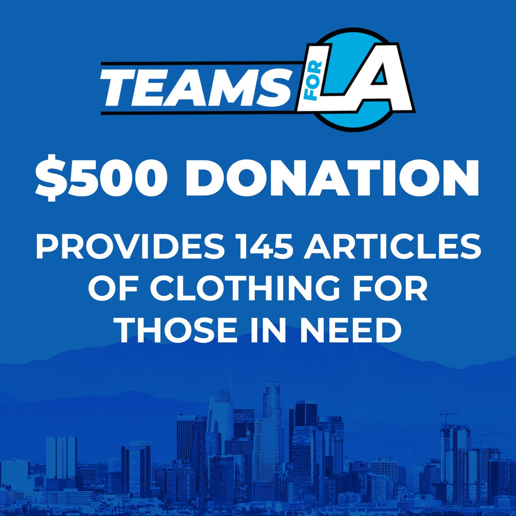 Provide 145 Articles of Clothing for Those in Need