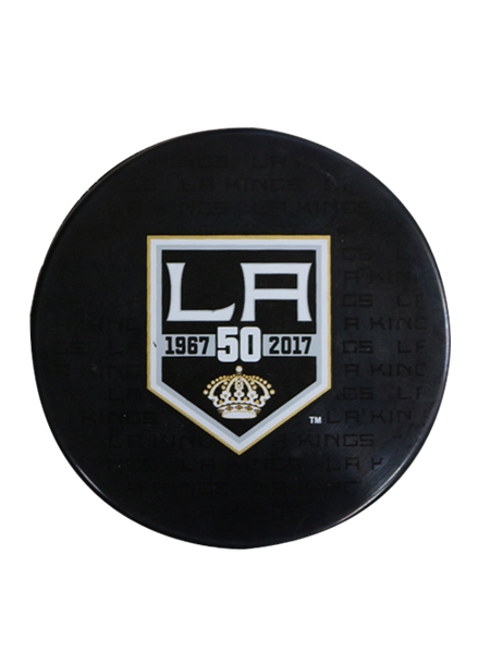 Los Angeles Kings 50th Anniversary Replica Puck