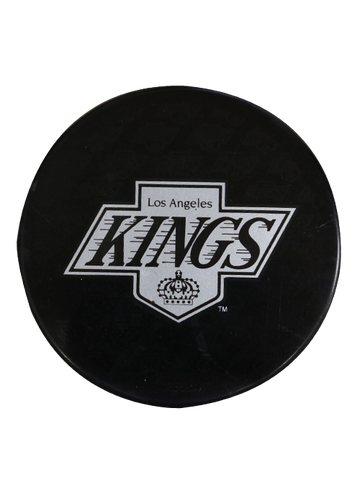 Los Angeles Kings 50th Anniversary Chevron Replica Puck