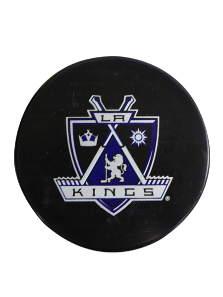 Los Angeles Kings 50th Anniversary Shield Replica Puck