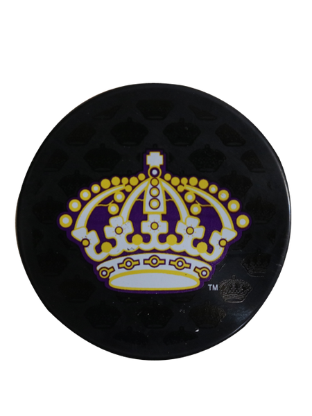 Los Angeles Kings 50th Anniversary Queens Crown Replica Puck