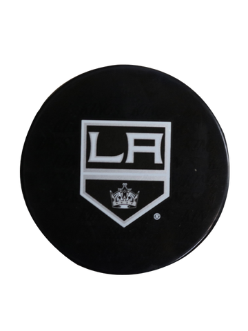 Los Angeles Kings 50th Anniversary Crest Replica Puck