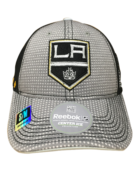 Los Angeles Kings 50th Anniversary Center Ice Two Tone Structured Flex Cap