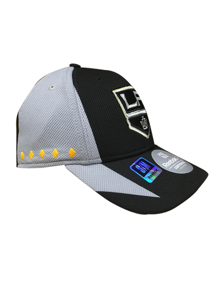 Los Angeles Kings 50th Anniversary Center Ice Practice Structured Flex Cap