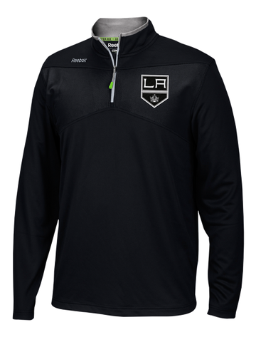 Los Angeles Kings Center Ice Knit Quarter Zip Jacket