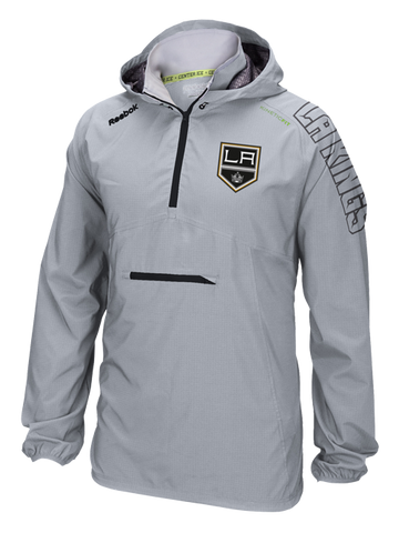 Los Angeles Kings 50th Anniversary Shield Center Ice Anorak Quarter Zip Jacket