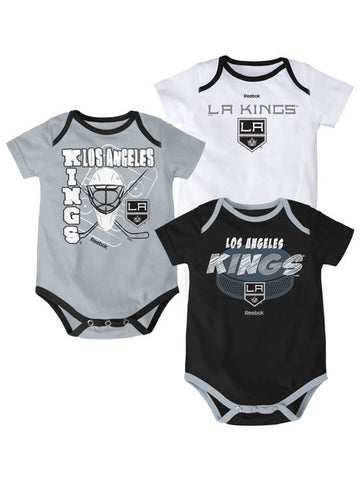 Los Angeles Kings Infant 3 Point Spread Bodysuit Set