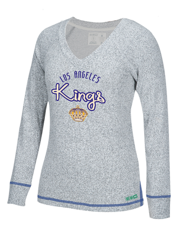 Los Angeles Kings Womens Comfy Crew Pullover