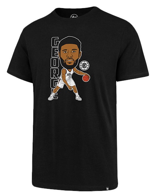LA Clippers City Edition Paul George Caricature Tee - Black