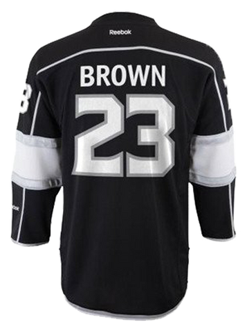 Los Angeles Kings Dustin Brown Kids Replica Home Jersey