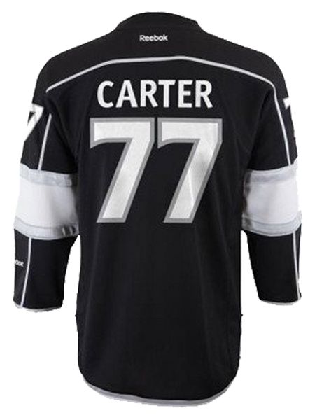 LA Kings Jeff Carter Youth Premier Home Jersey