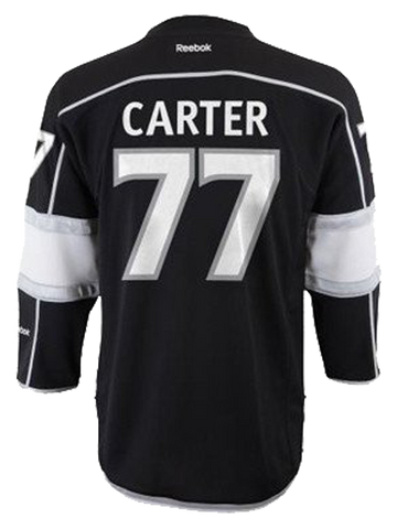 Los Angeles Kings Jeff Carter Youth Premier Home Jersey